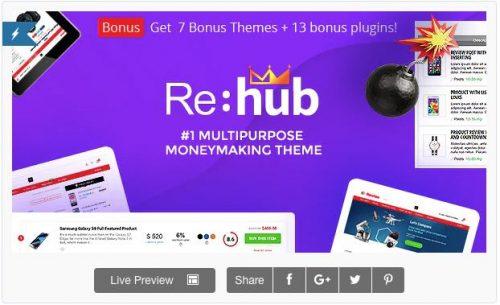 REHub theme amazon